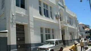 The Arab and Swahili quater in downtown Mombasa