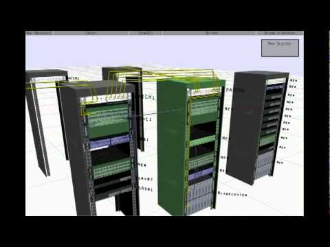 Masshandra 3d Network Diagram L3 And Datacenter View Youtube