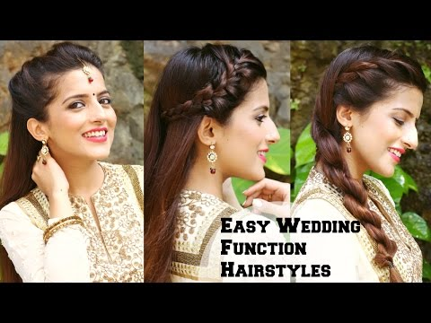 3 EASY Hairstyles For Wedding Occasions For Medium Hair