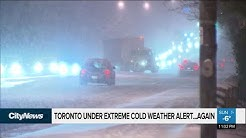 Toronto under another extreme cold weather alert