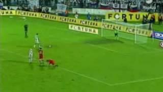 Slovensko - Cesko 2:2 (5.9.2009) slovenske goly