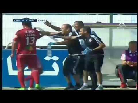 اهداف مقابلة شباب الريف الحسيمي والوداد الرياضي 0-1|  الدورى المغربى, الاحد 29-5-2016