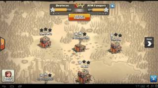 [Clash of Clans] 1. Clankriegsvideo in Deathcoc