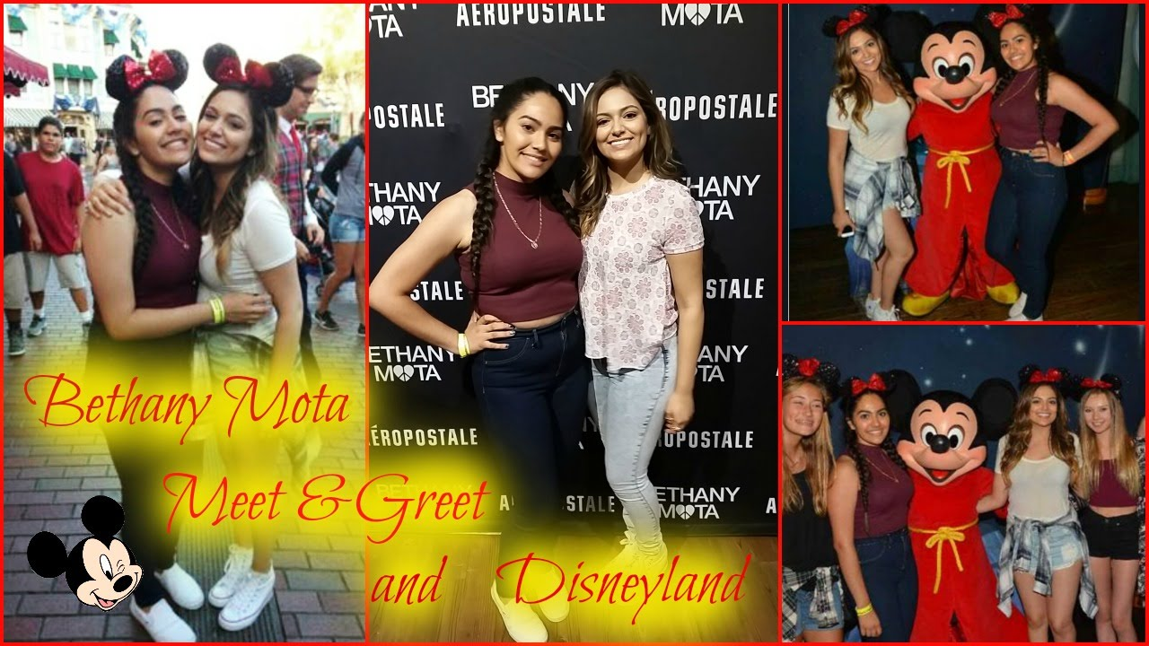 Bethany mota meet greet and disneyland with bethany youtube bethany mota meet greet and disneyland with bethany m4hsunfo