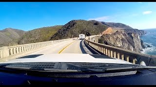 California Big Sur Camping Road Trip - Pacific Coast Highway