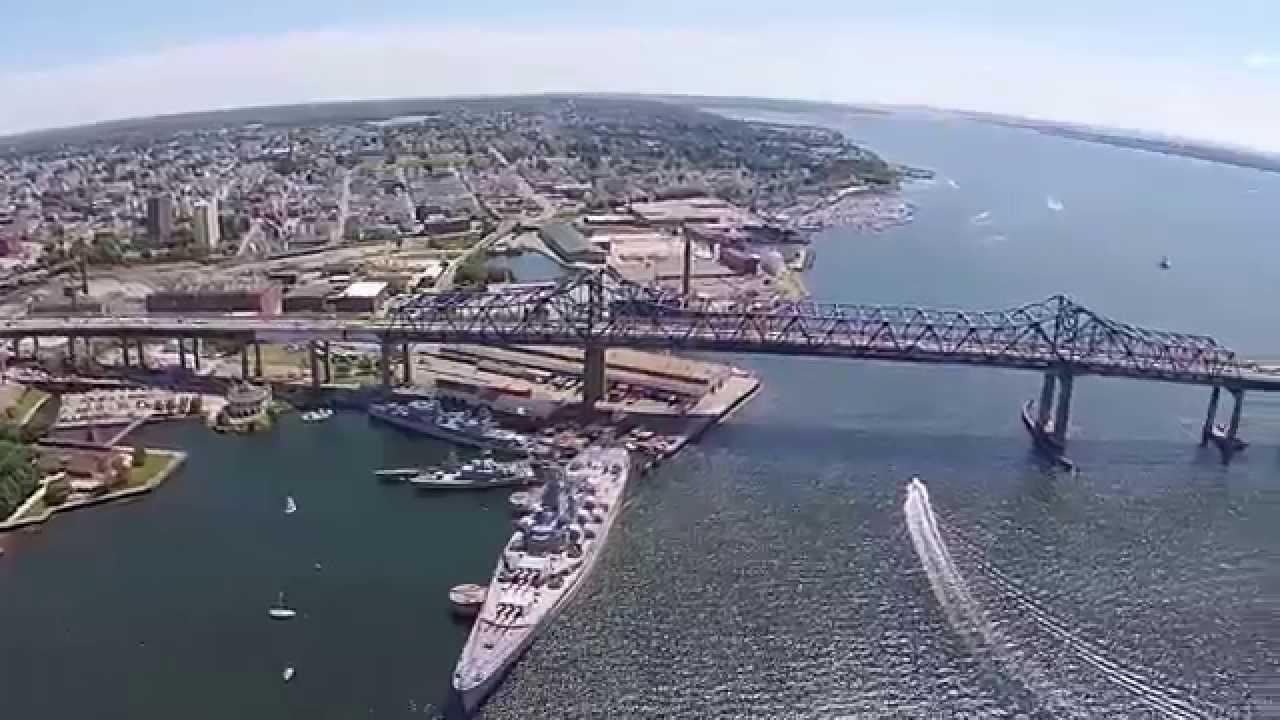 Battleship Cove Fall River - YouTube