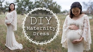 DIY Maternity Dress | Thrifted Transformations Ep. 72