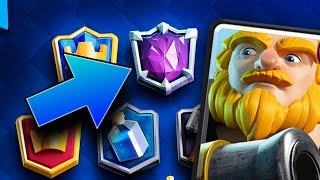 Pushing in Ultimate Champion in Clash Royale!