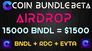 CoinBundle Beta Airdrop 15000 BNDL = $1500 Biggest Bounty [ हिंदी ]