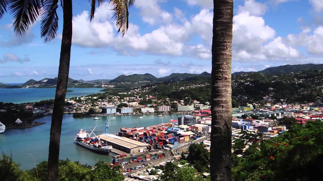 saint lucia island nick lido in castries youtube. Black Bedroom Furniture Sets. Home Design Ideas