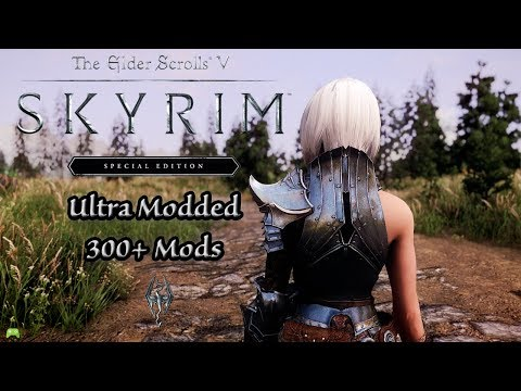 Skyrim Special Edition Ultra Modded +300 Mods Gameplay [HD]