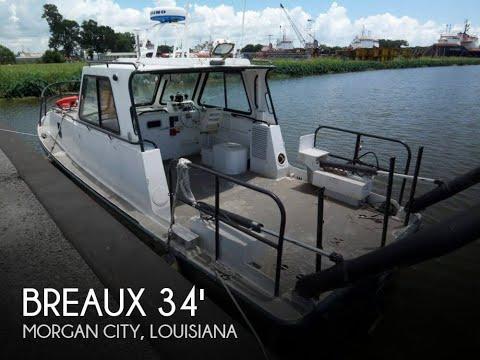 Used 2004 Breaux 34 Aluminum Research Vessel for sale in Morgan City, Louisiana