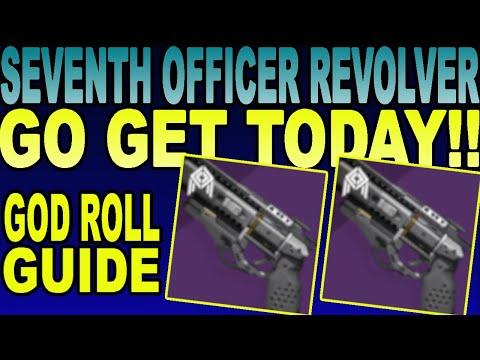 Amazing SEVENTH SERAPH OFFICER REVOLVER! God Roll Guide! | Destiny 2 Season Of The Worthy(2020)