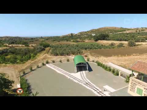 Cyprus RailWay Museum by Cyprus Aerial Photography
