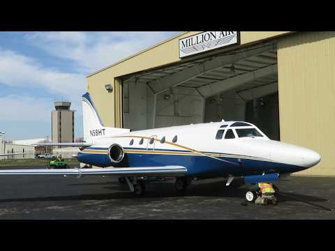 American Air Charter NA-265-65 Sabreliner 65 - Flight From And To Spirit Of St. Louis (SUS), USA