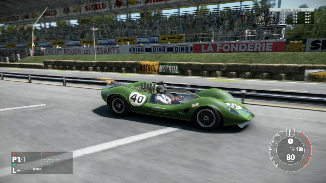 Project cars 1965 lotus type 40 ford classic gt car for Cir rouen