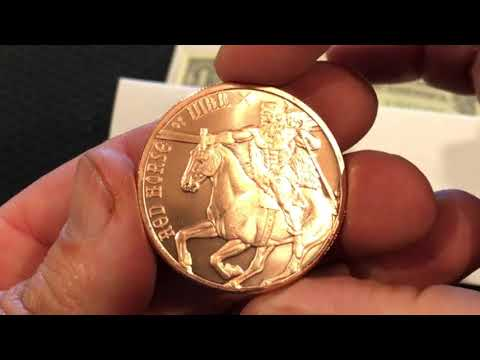 Copper Rounds, Benjamin Franklin Half Dollar & Star Bank Note!!! Awesome Stuff!