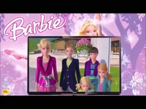 Barbie e Suas Irmãs em Uma Aventura de Cavalos - com áudio-descrição