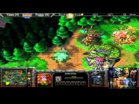 Wc3 Replay Of The Year 2015 Yaws (H) vs Foggy (N)
