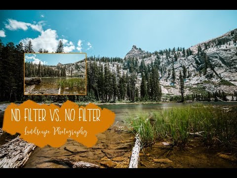 ND filter vs No Filter Landscape Photography Tips and Tricks