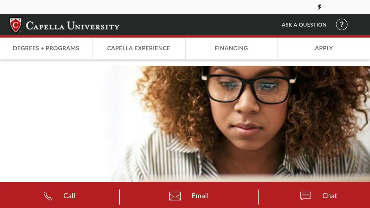 Social Media Posts for Capella University (off-campus)