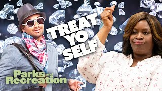 The BEST OF Tom and Donna TREAT YO SELF | Parks and Recreation | Comedy Bites