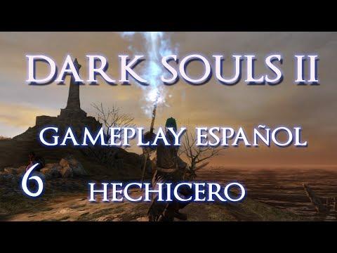 DARK SOULS 2 | Gameplay Hechicero P6 : Muelles de Nadie y primer Maestro de Hechizos Carhillion