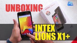 Unboxing: INTEX AQUA LIONS X1+   Tech Tak