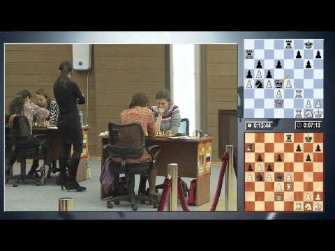FIDE Women Grand Prix 2014 Round 1 (English Audio)