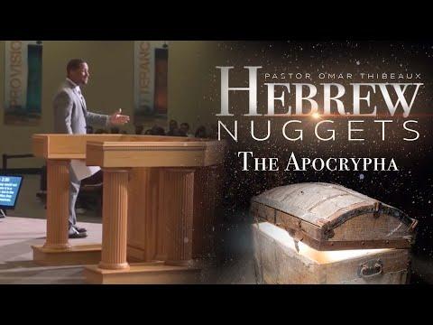 Hebrew Nugget - The Apocrypha