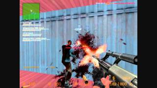 counter strike source zombie mod gamepla...