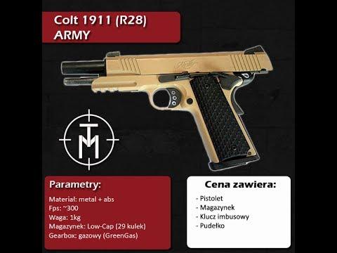 Colt 1911 (R28) firmy ARMY - TANIEMILITARIA.PL
