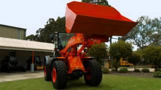Hitachi ZW-5 Wheel Loader: Muffler Filter