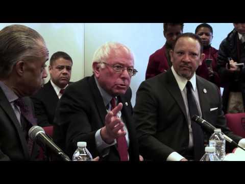 Civil Rights Leaders' Meeting | Bernie Sanders
