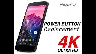 Nexus 5 Power Button Replacement