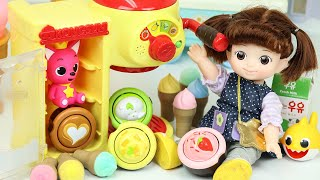 Baby doll cafe shop cooking to…