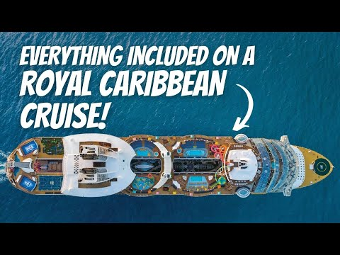 """ROYAL CARIBBEAN CRUISE IN 2021   WHAT""""S INCLUDED IN  ROYAL CARIBBEAN CRUISE FARE!"""