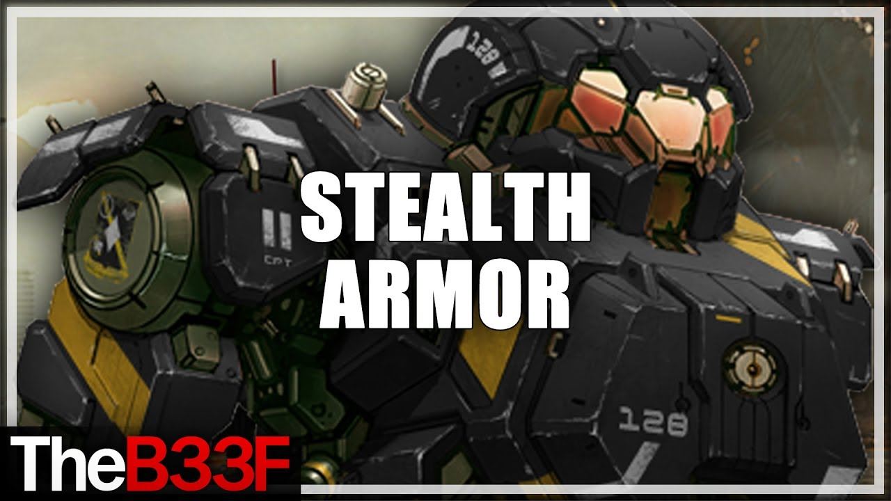 Theb33f Stealth Armor First Impression Mechwarrior Online Youtube