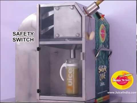 Modern Sugarcane Juice Machines extracts One liter 4 glasses in a minute.and consumes 25% less power