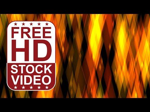 free-stock-videos---abstract-colorful-bokeh-yellow-lights-diamond-shape-2d-animation