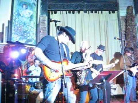 Director Robert Rodriguez and the Rumblers - Ace of Spades Live at Embargo Fort Worth Texas