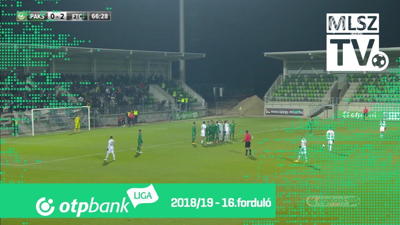 Varga Roland gólja a Paksi FC – Ferencvárosi TC mérkőzésen