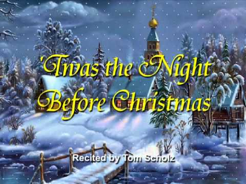 Tom Scholz Recites 'Twas the Night Before Christmas - YouTube