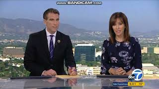 KABC ABC 7 Eyewitness News at 6pm Saturday teaser and breaking news open August 18, 2018