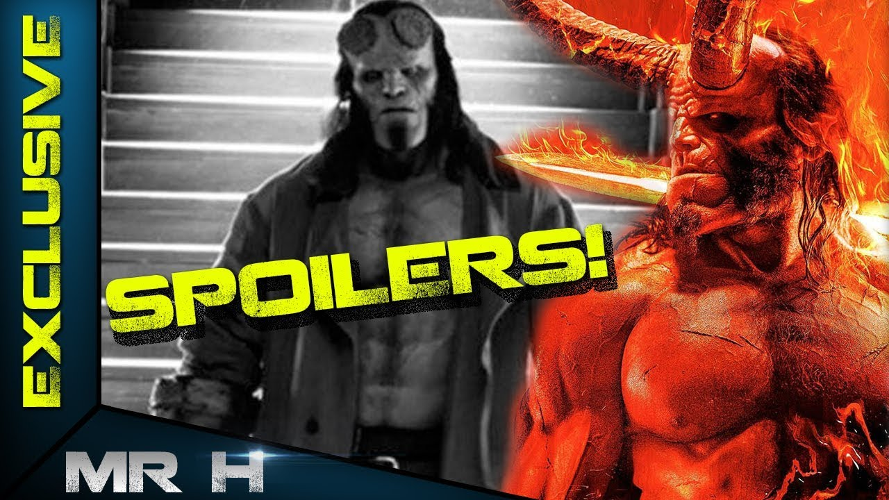 Hellboy 2019 FULL SPOILERS - Exclusive Cameos, Story, Villains, Abe Sapien?