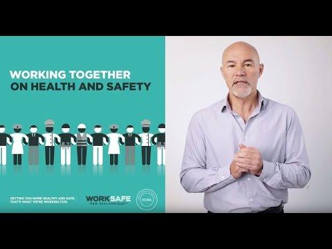 Health & Safety at Work Act Presentation - Gordon MacDonald, Chief Executive, WorkSafe New Zealand
