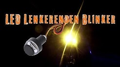 LED Blinker | Lenker Blinker | Handlebar Amber Indicator Flasher