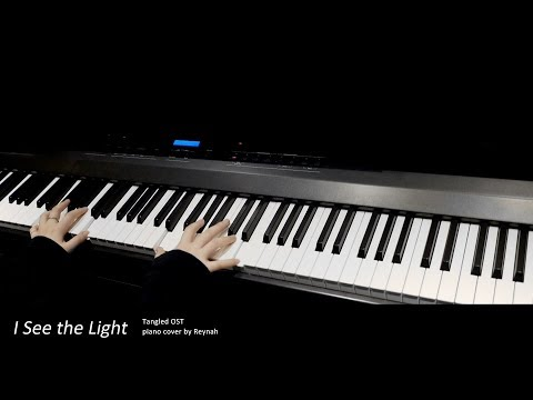 """Tangled OST : """"I See the Light"""" Piano cover"""