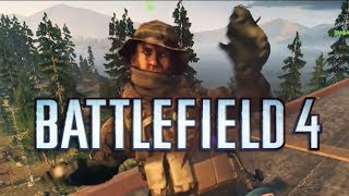 Battlefield 4 Funny Gameplay Moments! - Backflip, Jets, Jeep Fail, RPGs (Xbox One Gameplay)