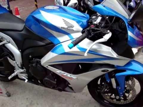 Honda 600rr 2007 Azulplata Motos Gibsonn Youtube